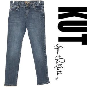KUT from the Kloth Catherine straight jeans size 6